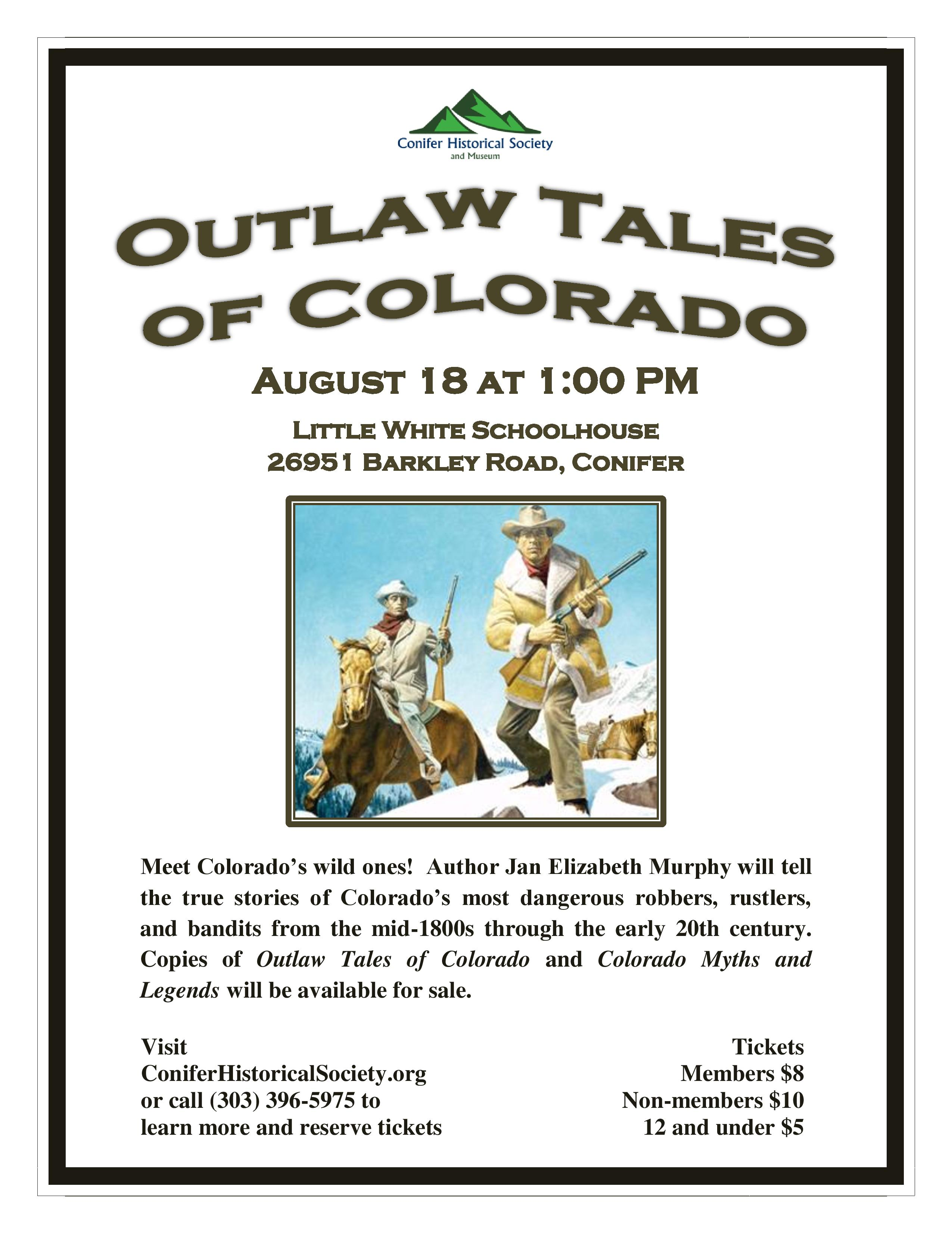 News – Conifer Historical Society and Museum